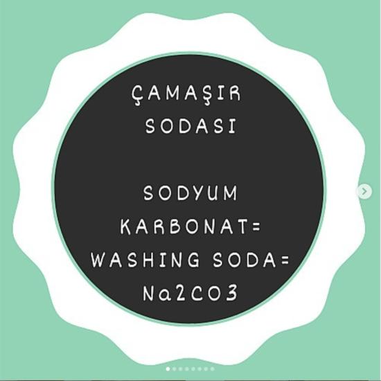 Çamaşır Sodası - Sodyum Karbonat