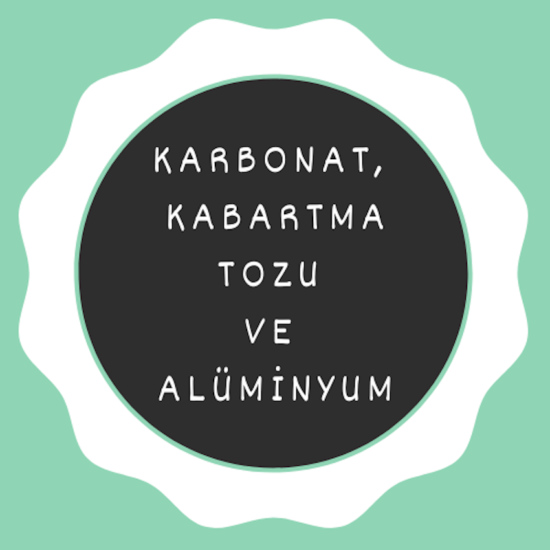 Karbonat, Kabartma Tozu ve Alüminyum